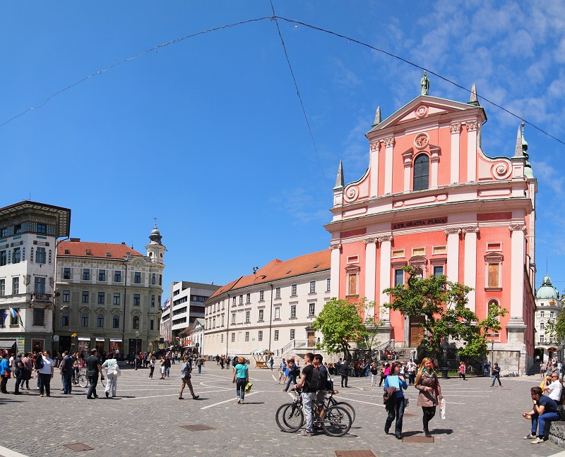 Ljubljana – the capital city of Slovenia