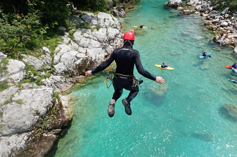 Are you ready for an ultimate canyoning Bovec experience?