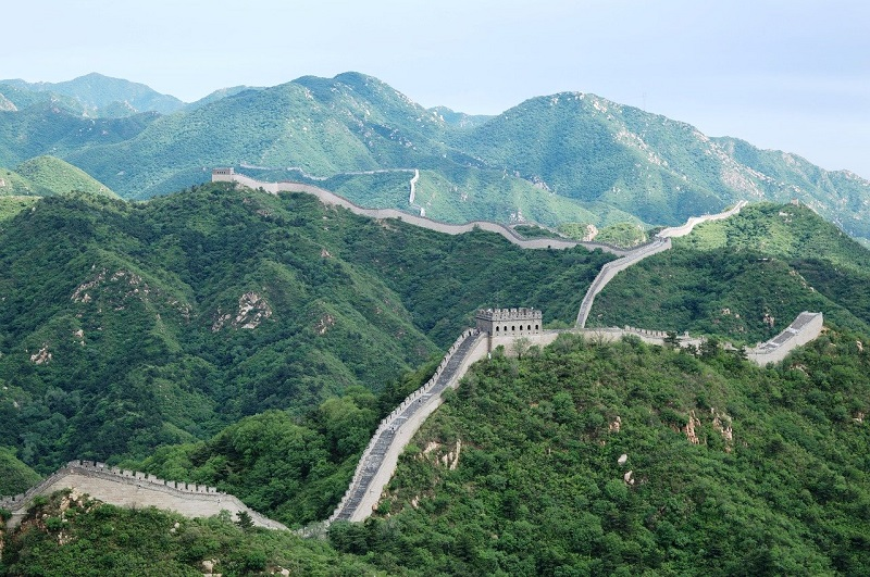 Great Wall of China is the largest ancient architecture